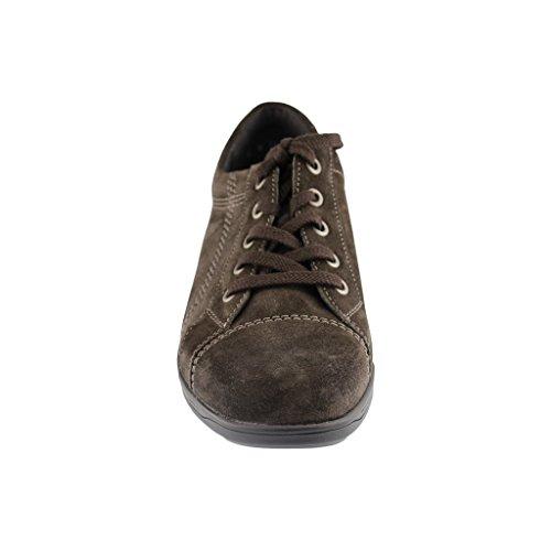 Ara Mujer Zapatos Para Cordones Marrón De Ante 11rwv