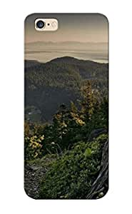 Fashion Uopugq-1906-deuvlao Case Cover Series For Iphone 6 Plus(view From The Mountain Top )