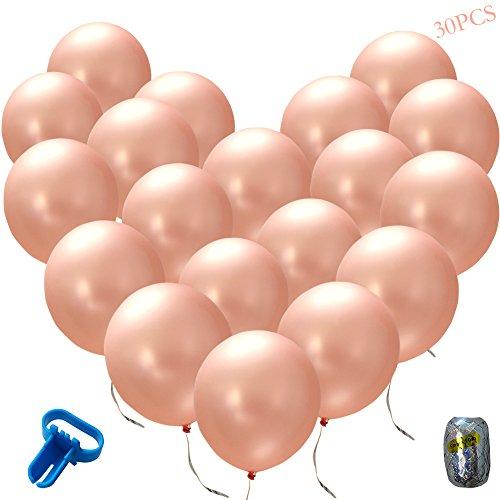 Albabe Rose Gold Balloons 12
