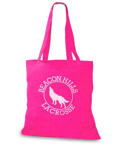 StyloBags Jutebeutel / Tasche Beacon Hills Lacrosse Pink