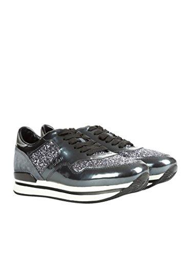 Hogan Sneakers Donna HXW2220N624DZB0XDW Glitter Argento