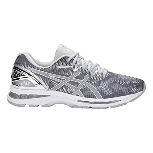 Wholesale Athletic Wear - ASICS Men's Gel-Nimbus 20 Running Shoe, Carbon/Silver/White, 8.5 Medium US