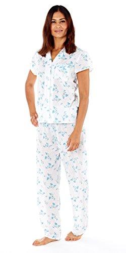 Lady Selena - Pijama - para mujer Blue (LN581)