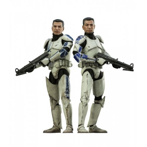 Sideshow Collectible Figure (Star Wars Clone Troopers Echo And Fives 1:6 Sideshow Figure)