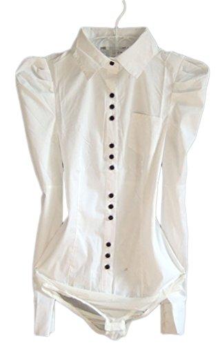 Soojun Womens Sleeve Bodysuit Shirt