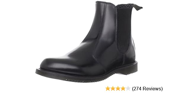 Dr. Martens Women s Flora Leather Chelsea Boot 9d0c738ee2