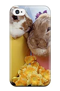Frances T Ferguson Snap On Hard Case Cover Spring Easter Images Protector For Iphone 4/4s