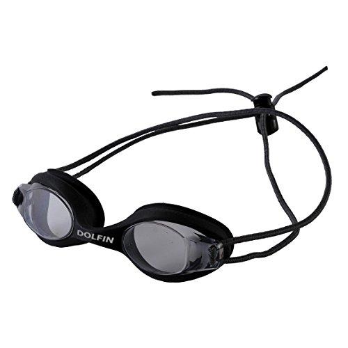 (Dolfin bungee racer goggle,Smoke,One Size)