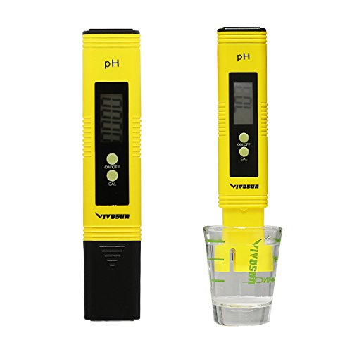 VIVOSUN PH Meter Digital PH Tester Pen for Water Advanced Pond Kit