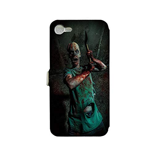 Phone case Compatible with iPhone 7 iPhone 8 3D Printed PU Skin Cover Protection Sleeve,Satan Human Life Death Themed Fantasy Graphic,Army,Premium PU Leather Magnetic Flip Folio Protective iPhone cas