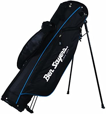 b3a3f867621c Ben Sayers Stand Pencil Bag - Black Blue