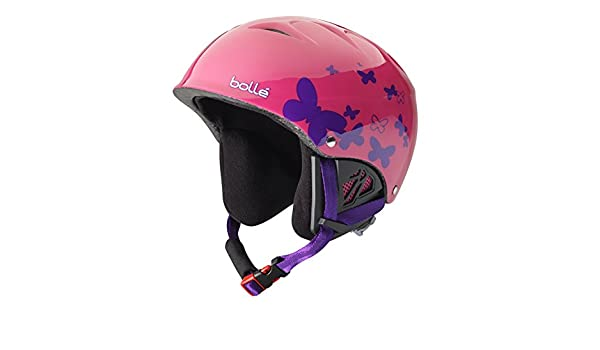Bollé Casco de esquí B de Kid Shiny Rosa Butterfly, 53 - 58 cm, 31222: Amazon.es: Deportes y aire libre