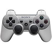 PlayStation 3–DUALSHOCK 3wireless Controller Uyumlu, gümüş