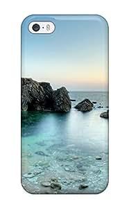 Fashion Tpu Case For Iphone 5/5s- Wild Coast Peninsula Defender Case Cover