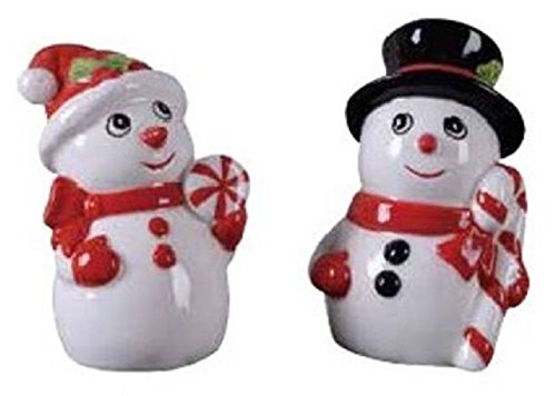 Transpac - Snowman Salt and Pepper Shakers - 1 set ()