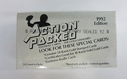 1992 Action Packed Football -