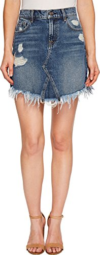 7 For All Mankind Women's Skirt w/Scallopped Hem in Montreal Montreal 25 by 7 For All Mankind