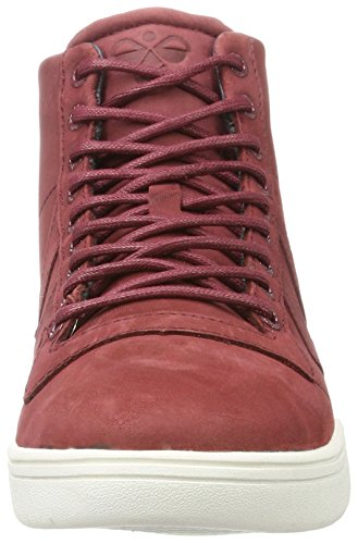 Adulte Mixte Winter High Hautes Hummel Hml Stadil Sneakers Rouge cabernet nqxHRW70w