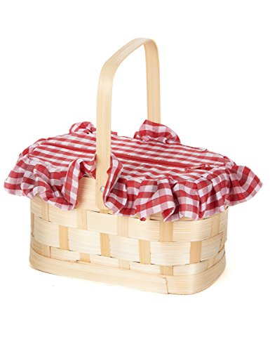 Gingham Basket Costume Accessory]()