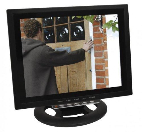 30,48cm CCTV LCD Monitor Video /Überwachungsmonitor mit HDMI VGA 2x AV Audio Eingang HaWoTEC 12