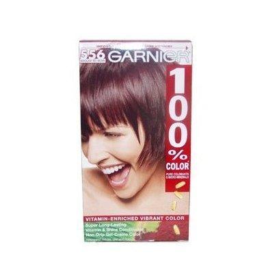 100 Percent Color Vitamin-Enriched Gel Cr?me, 556 Mahogany