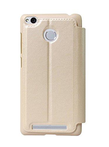 factory price b3720 48534 COVERNEW Flip Cover for Xiaomi Mi Redmi 4: Amazon.in: Electronics