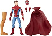 Marvel Legends Series Figura de 15 cm e 1 peça Build-a-Figure - Zombie Hunter Spidey - F0332 - Hasbro