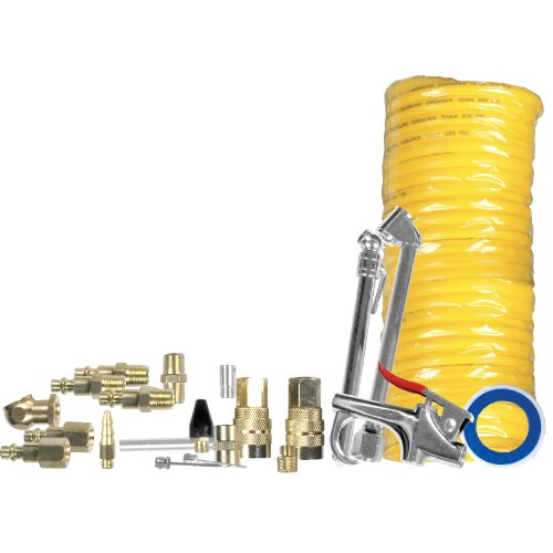 Performance Tool M523 Air/Pneumatic Accessory Set, (22 Piece Tapered)