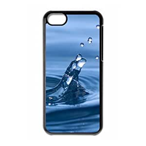 iPhone 5c Cell Phone Case Black macro Insect With Water Drops A9567605