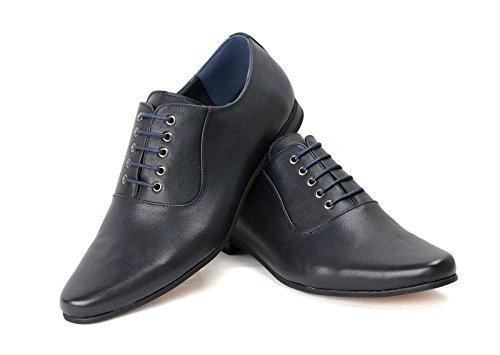 Hombres Inteligentes Cordones Para Zapatos De Vestir para oficina Boda Formal Trabajo Azul Marino