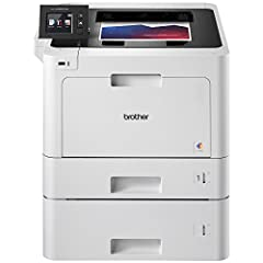 For businesses that require a dependable and cost-efficient color laser printer with a large paper capacity, the Brother HL-L8360CDWT is the solution. Arriving with dual paper trays, (250- and 500-sheet capacities), this business color laser ...