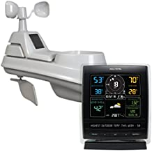 AcuRite 01517RM   Wireless Weather Station with 5-in-1 Weather Sensor: Temperature and Humidity Gauge, Rainfall, Wind Speed and Wind Direction