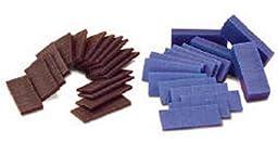 Casting Wax Ferris File A Wax Slices X 1/2 Lb Blue