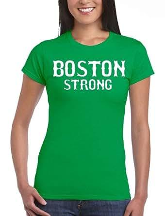 Junior boston strong green state t shirt tee for Boston strong marathon t shirts