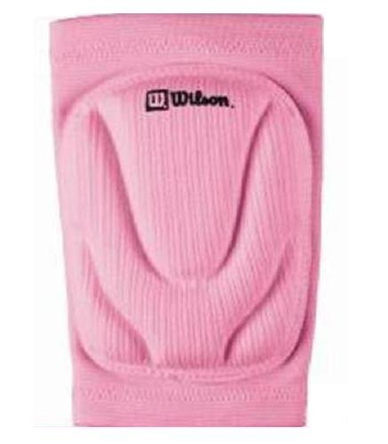Wilson Adult Volleyball Knee Pads, Pink