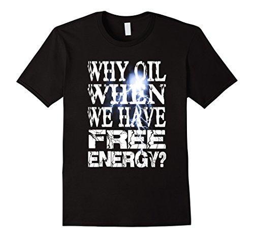 Mens Nikola Tesla Oil Free Energy T Shirt  Dapl Protests  Dakota Medium Black
