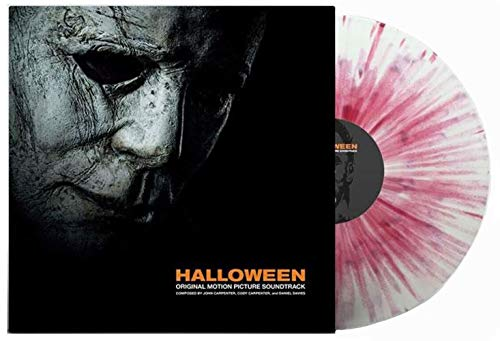 Halloween Original Soundtrack vinyl (Exclusive Dirty, Bloody Mask vinyl) [vinyl] John Carpenter]()