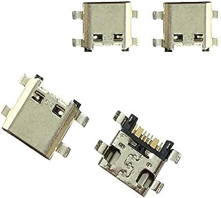 Repuesto Conector Puerto MicroUSB Cargador Flex Cable ...