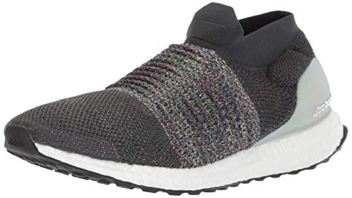 adidas Men's Ultraboost Laceless,carbon/solid grey/ash silver,9.5 M US