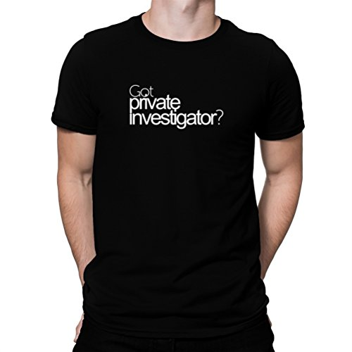 瞑想的鷹痴漢Got Private Investigator? Tシャツ