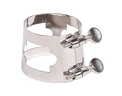 Belmonte Baritone Sax Ligature Nickel from Belmonte