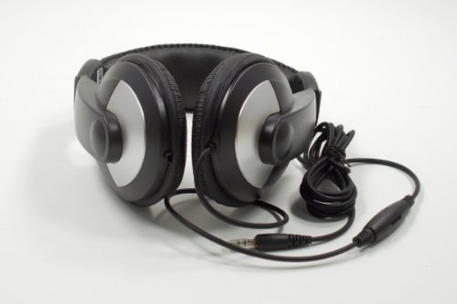 HP Synchrotech Stereo Headphones with In-Line Volume Control