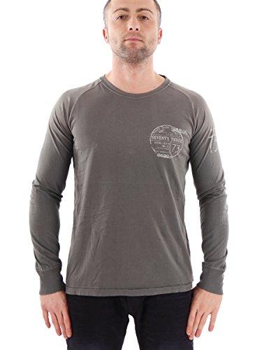Pepe Jeans Longsleeve Oberteil Freizeitshirt grün Lukin Rundhals Gr.XL PM501641