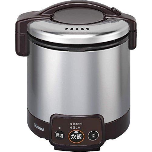 Cooker Lpg - Rinnai Kogamaru jar with a gas cooker 5 Go cook Dark Brown propane gas LPG for RR-050VM (DB) LP