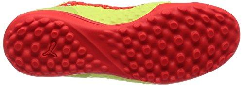 Puma Herren 365 Netfit St Fußballschuhe Gelb (Fizzy Yellow-Red Blast-Puma Black)
