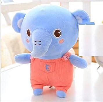 YOIL Lindo y Encantador Juguete Suave Peluches Adorable Juguete Elefante de Peluche Elefante Suave de 50