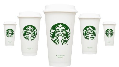 Starbucks Reusable Cup To Go Travel Coffee Tea Tumbler 16 Oz (Pack of (Starbucks Travel Coffee Mugs)
