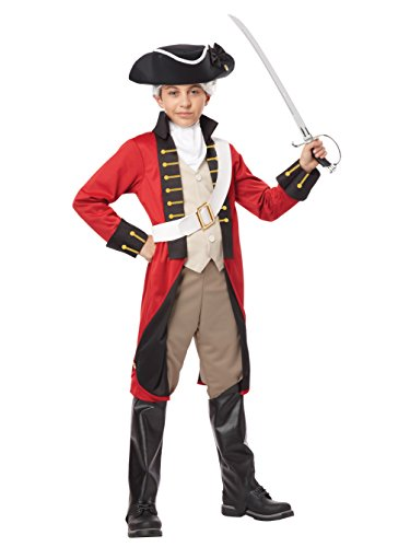 California Costumes British Redcoat Child Costume, X-Large -