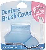 Denture Brush Cover - Fits All Denture Brushes (Blue)