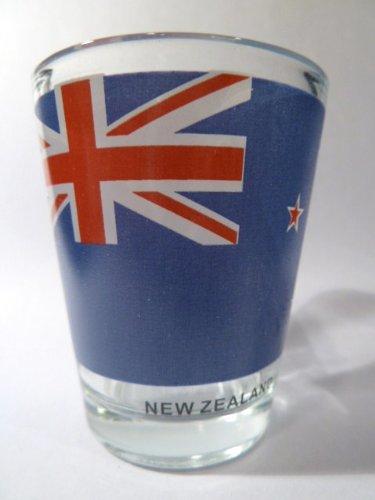 New Zealand Flag Shot Glass - Zealand Glasses New